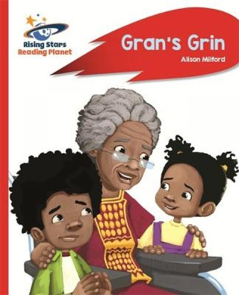 Reading Planet - Grans Grin - Red A Rocket Phonics Alison Milford Paperback New