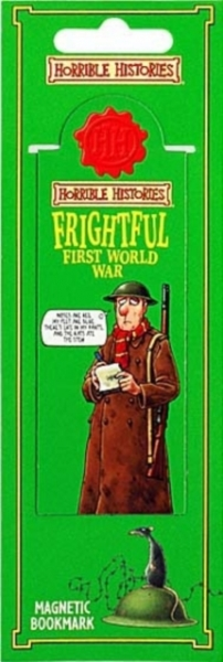 FRIGHTFUL FIRST WORLD WAR MAGNETIC BOOK UNKNOWN New Free UK Post