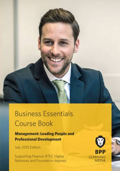 Business Essentials Management Leading People and Professional Development 97814