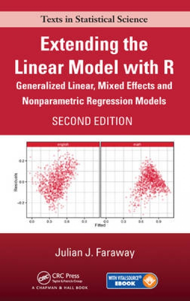 Extending the Linear Model with R Julian J. Faraway Mixed media product New Book