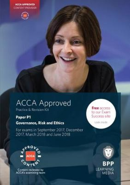 ACCA P1 Governance Risk and Ethics 9781509708611 BPP Learning Media Paperback Ne