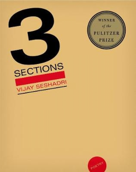 3 Sections Vijay Seshadri Paperback New Book Free UK Delivery