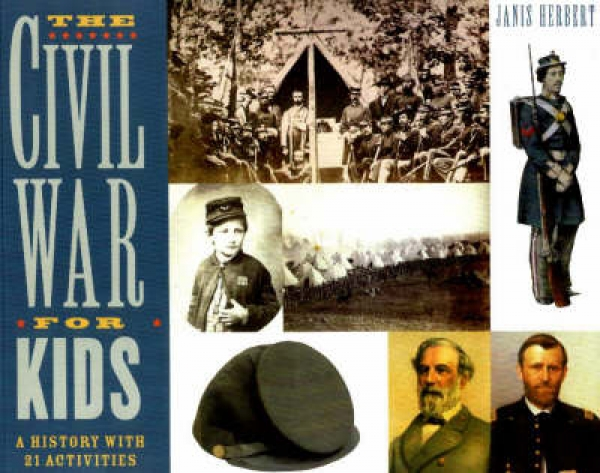 The Civil War for Kids Janis Herbert Paperback New Book Free UK Delivery