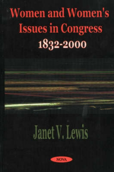 Women and Womens Issues in Congress Janet V. Lewis Hardback New Book Free UK Del