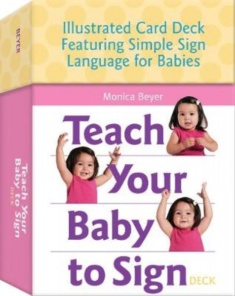 Teach Your Baby to Sign Deck Monica Beyer Cards New Book Free UK Delivery
