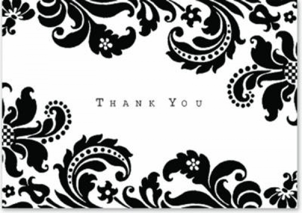 Thank You Notes Shadow Tapestry Peter Pauper Press Cards New Book Free UK Delive