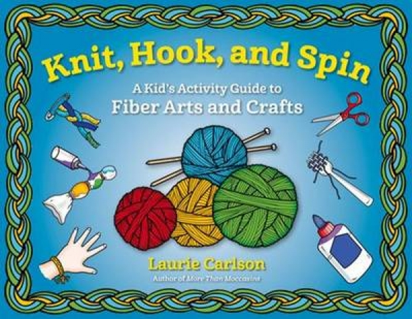 Knit Hook and Spin Laurie Carlson Paperback New Book Free UK Delivery