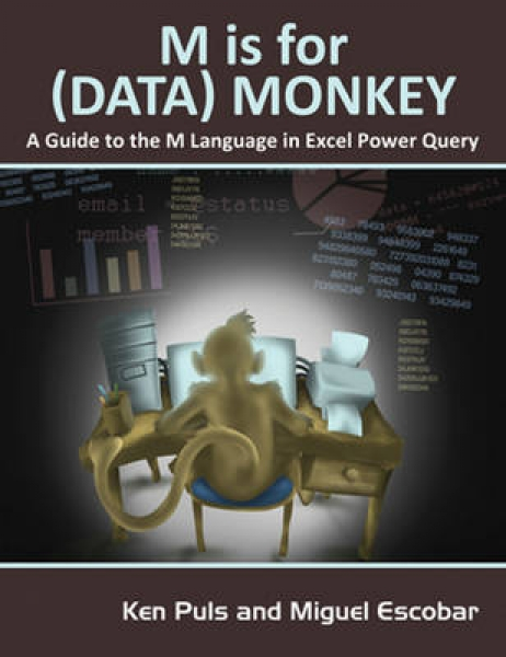 M is for Data Monkey Ken Puls Miguel Escobar Paperback New Book Free UK Delivery