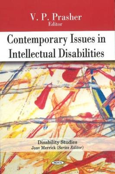 Contemporary Issues in Intellectual Disabilities V.P. Prasher Hardback New Book