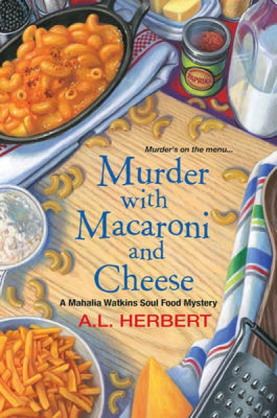 Murder with Macaroni and Cheese A. L. Herbert Paperback New Book Free UK Deliver
