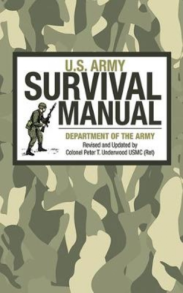 U.S. Army Survival Manual United States. Department of the Army Al Paperback NEW