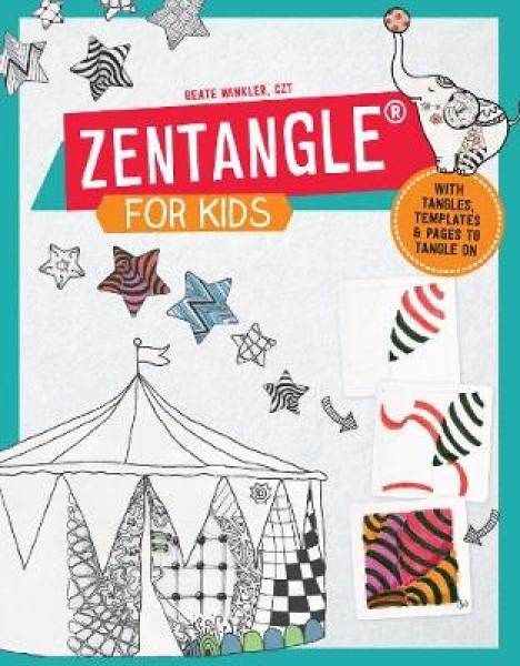 Zentangle for Kids Beate Winkler Paperback New Book Free UK Delivery