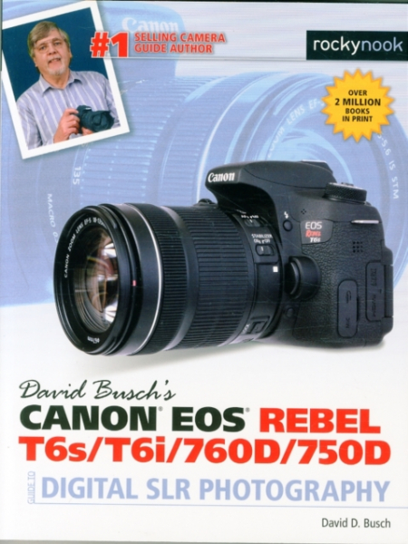 David Buschs Canon Eos Rebel T6sT6i Guide to Digital SLR Photography David D. Bu