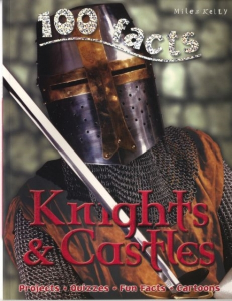 100 Facts Knights & Castles Jane Walker Paperback New Book Free UK Delivery