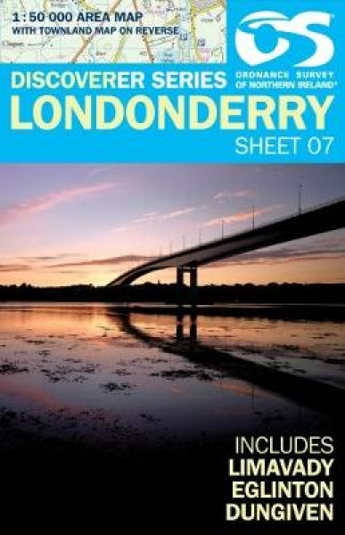 Londonderry Land and Property Services Sheet map folded NEW Book