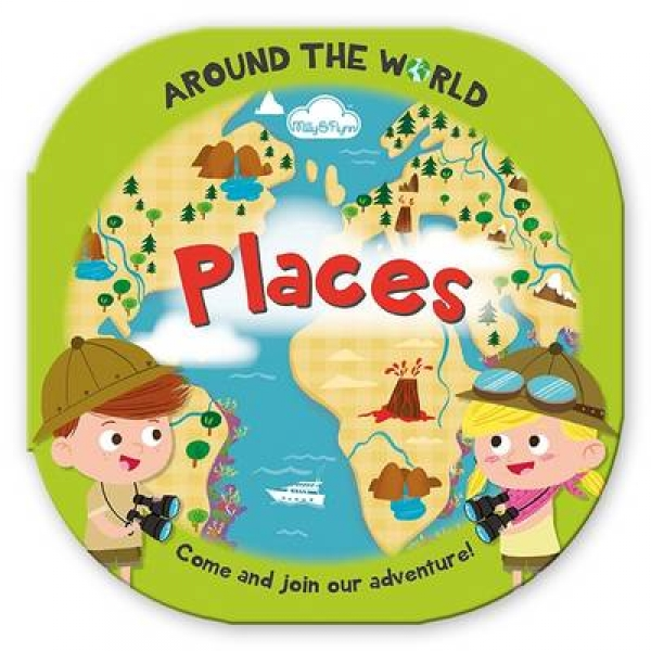 Around the World Places Moira Butterfield Hardback New Book Free UK Delivery
