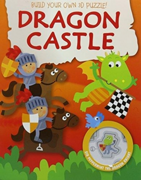 3D Puzzle Book Castle Hardback New Book Free UK Delivery